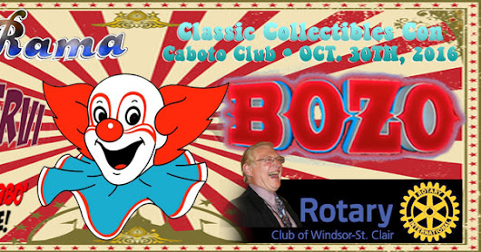 Windsor Rotary Club of Windsor-St. Clair brings you Bozo!