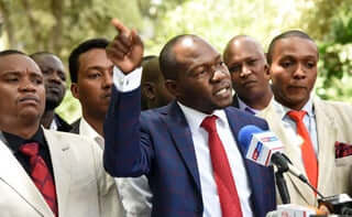 Sabot Mp Caleb Amisi insists for a Diaspora MP. PHOTO | NMG