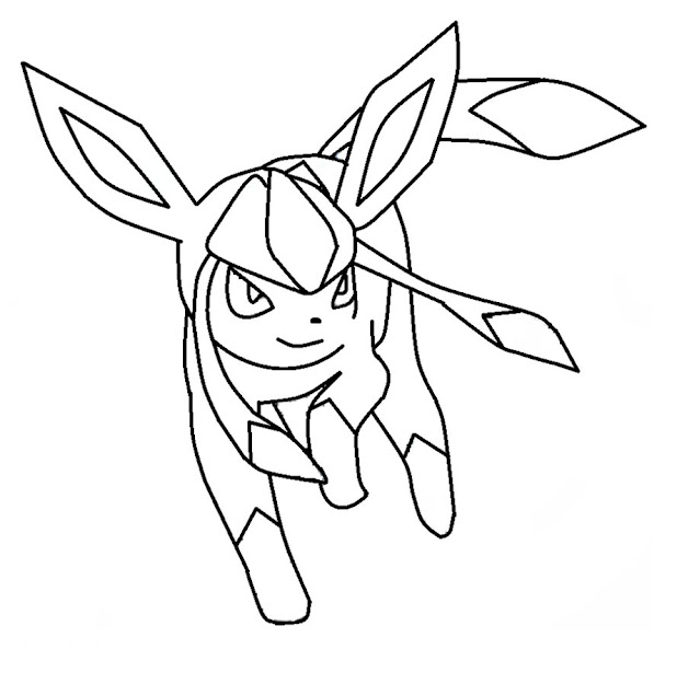 Pokemon Coloring Pages Eevee Evolutions  Pokemon Coloring Pages In Pokemon  Coloring Pages Eevee Evolutions All