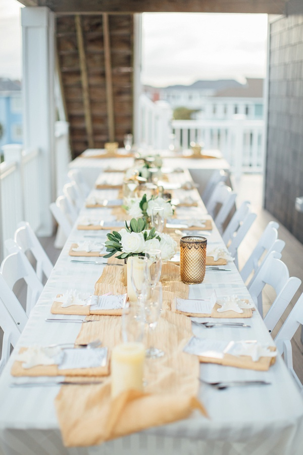 Gilded Casual Chic Outer Banks Wedding