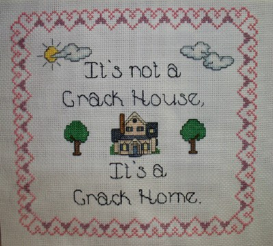 funny crack home