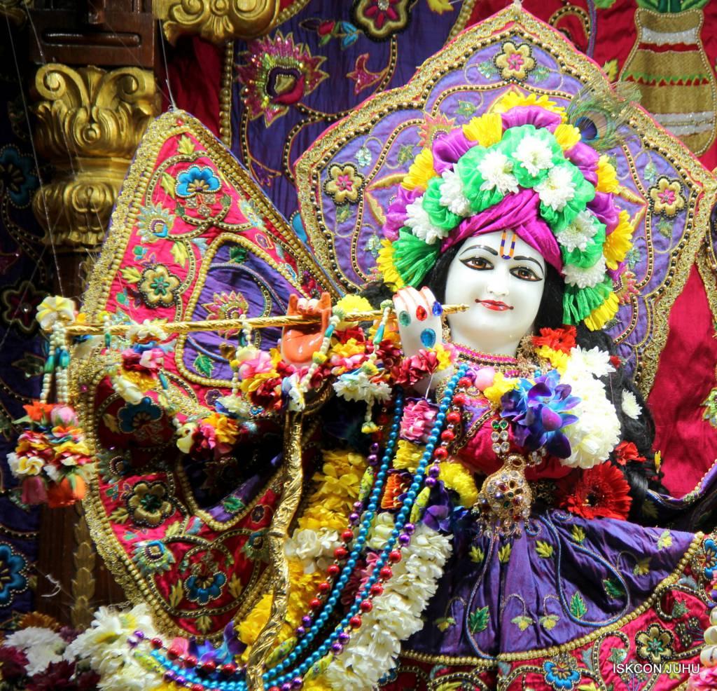 ISKCON Juhu Sringar Deity Darshan 29 Jan 2016 (3)