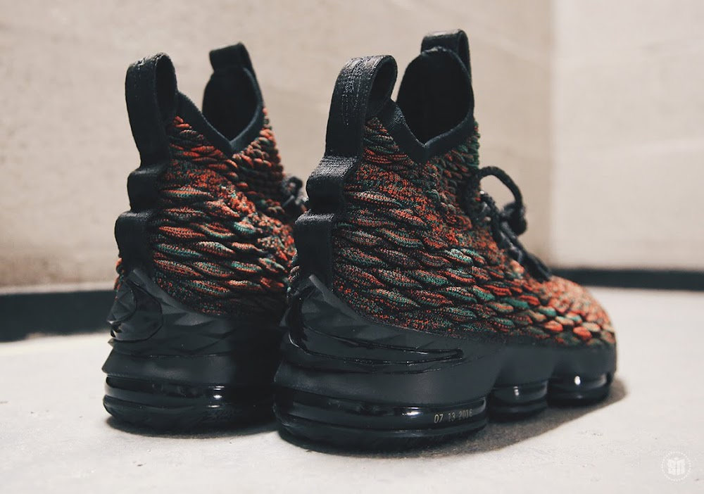 6db2e54ae26d9 Nike LeBron 15 Colorways