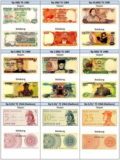 gambar uang yang dicabut