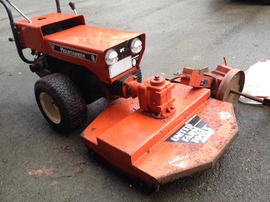 United Farm Tools Mountaineer 88E