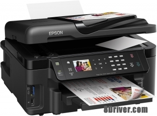 Download Epson WorkForce WF-3520DWF printers driver & Install guide