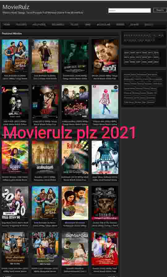 Movierulz wap: Download HD Tamil, Telugu & Bollywood Free Movies 2021