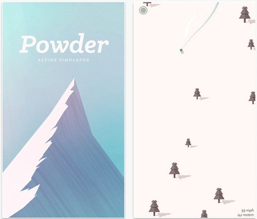 おすすめiPhoneゲームPowder Alpine Simulator