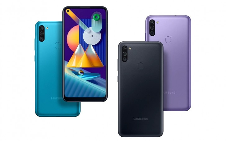 Samsung M11 prix Maroc