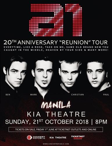 A1 Concert Oct 21, 2018