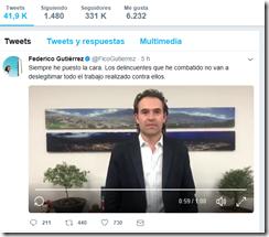 Federico Gutierrez twitter