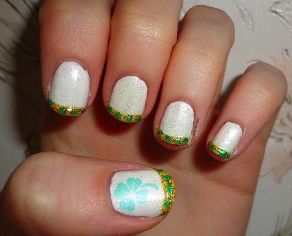 St Patrick s Day Nail Art