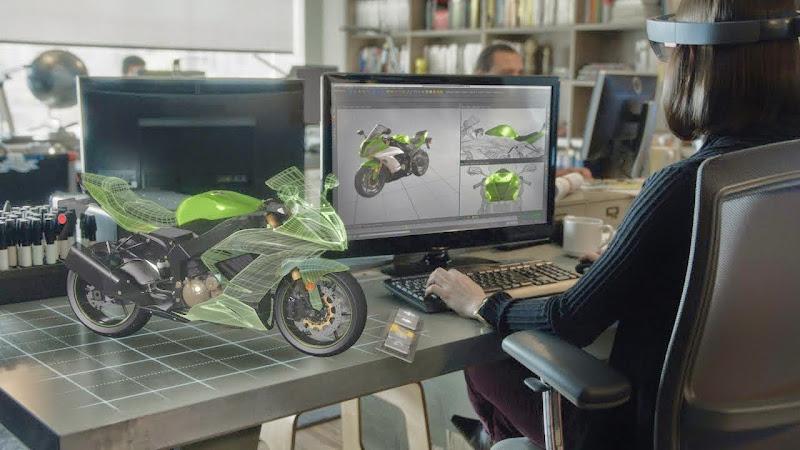 Newtechno France HOLOLENSWIKI HOLOLENS MICROSOFT #microsoft #handon