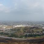 Vista de la ciudad desde el templo Bahai