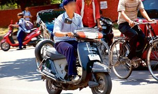 Action against parents of minor children driving vehicles without driving licence
