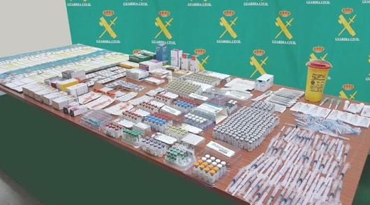Venta de medicamentos veterinarios sin receta (y viagra): un detenido en Almería