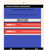 Internet Check Connection Online App
