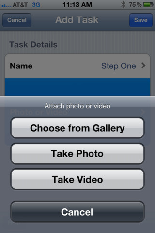 Video Scheduler Add Task
