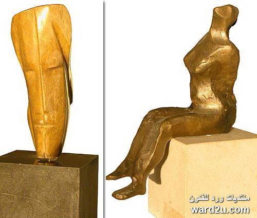 النحات اللبنانى نعيم ضومط Naim Doumit