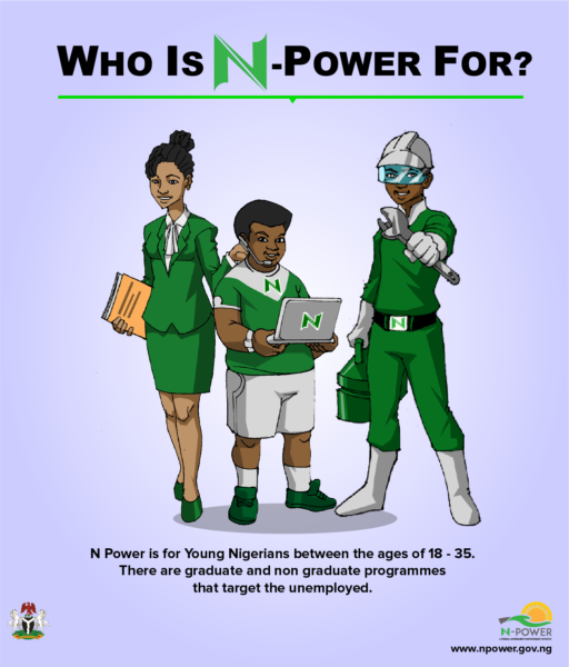 N-Power, 16 Youth Empowerment Schemes in Nigeria Since 1960 2