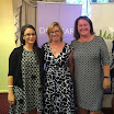 With Kat Georgakopoulos, and Australian of the Year, Rosie Batty at the iMatter family violence