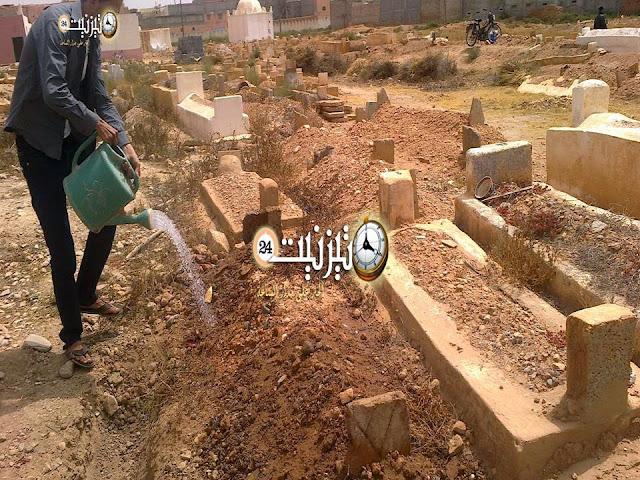 شخص متهم بنبش القبور بمقبرة سيدي بوجبارة في قبضة الأمن بتيزنيت/ مرفق بصور