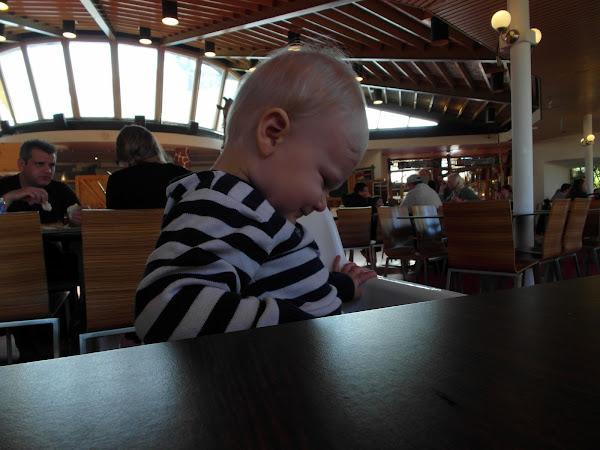 Eon bij de lunch