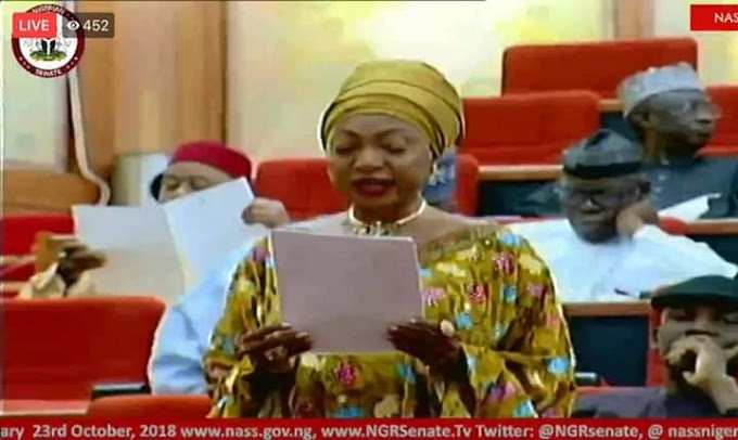 Sen Rose Oko moves motion for Cross River to produce next Federal civil service commissioner.