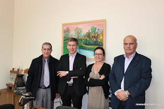 Photo: Rencontre du directeur de l'école latine à Beit Sahour