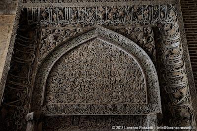 Esfahan, mirhab della moschea del Venerdì (particolare)