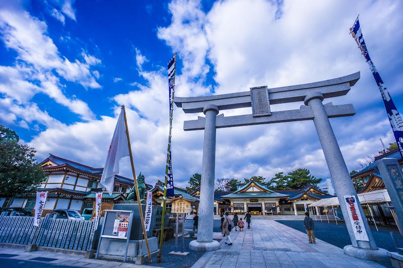 広島城 広島護国神社1