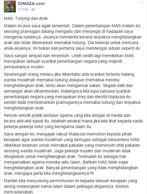 Pramugari MAS Menangis Di Depan Mufti Kerana Terpaksa Hidang Arak.png