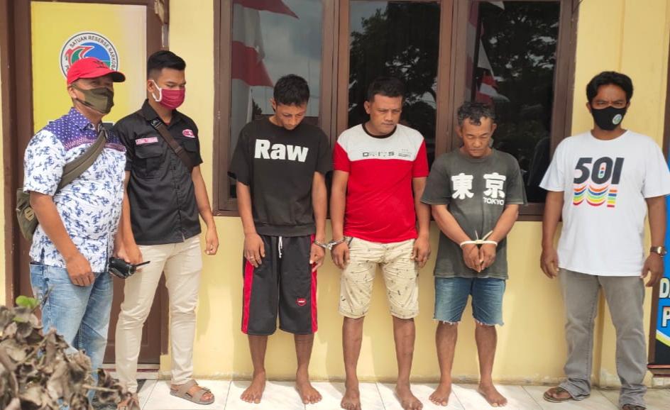 Kasat Narkoba AKP Henry D,B Tobing, Pimpin Gerebek Kampung Narkoba di Tanjung Tiram
