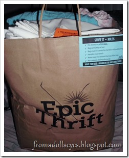 Epic Thrift Bag Sale