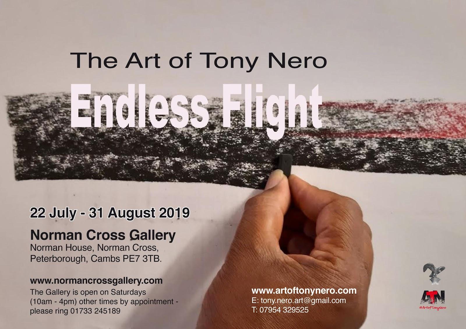 22nd July - 31st August Tony Nero: Endless Flight