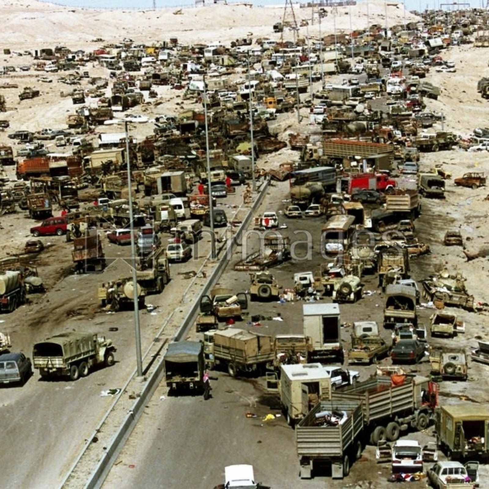 Image result for highway death iraq kuwait