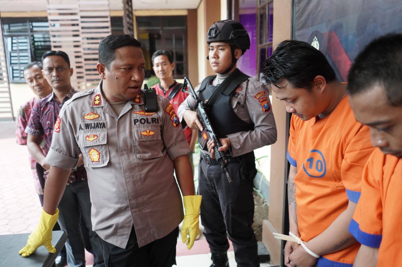 Pelaku Penjambretan Terrekam CCTV Berhasil Dibekuk Polresta Probolinggo