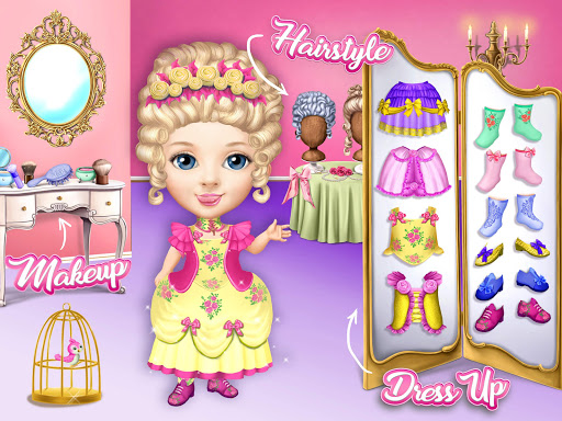 Pretty Little Princess - Dress Up, Hair & Makeup apkpoly screenshots 14
