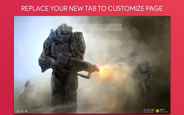 Fallout Wallpaper HD Custom New Tab