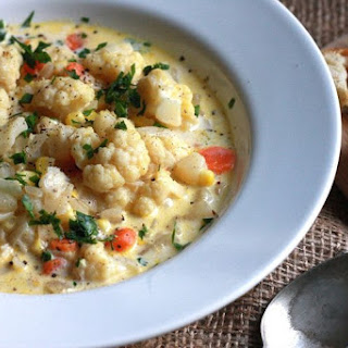 Cauliflower Corn Chowder Recipes