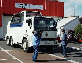 Leyland TruckPopemobile