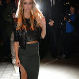 WWW.ENTSIMAGES.COM -     Lauren Pope  arriving at        Mondrian London - hotel launch party at Mondrian London October 9th 2014New London hotel, designed by Tom Dixon and owned by Morgans Hotel Group, hosts VIP evening to mark its launch on London's South Bank in the iconic Sea Containers building next to the OXO Tower. The hotel features 359 rooms and suites, a spa, meeting spaces, riverside bar and brasserie.                                                Photo Mobis Photos/OIC 0203 174 1069