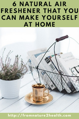 6 Natural Air Freshener that You Can Make Yourself at Home