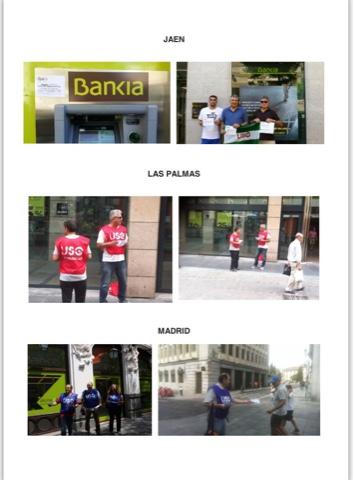 Ftsp uso las palmas accion llevada a cabo en el dia de for Bankia empresas oficina internet