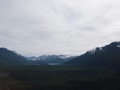 The view from the top of Rattlesnake Ledge. Photo taken on March 9, 2008.