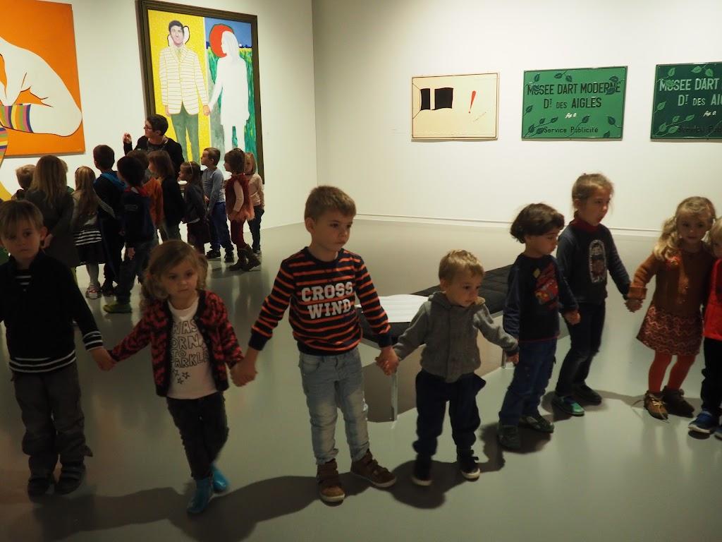 Leefgroep 1 ging naar het museum. - PA200090.JPG