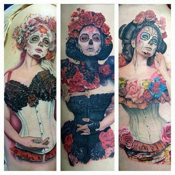açcar_crnios_e_espartilho_das_mulheres_dia_dos_mortos_tatuagens