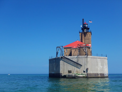 Port Austin Lighthouse. From Three Tows to Shore: Misadventures on Lake Huron