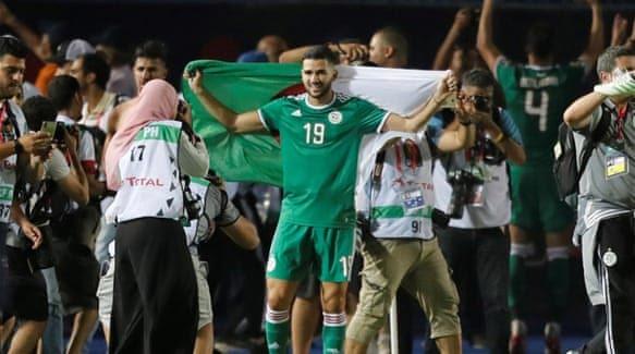 Algeria won 2019 AFCON. PHOTO   SKYSPORTS