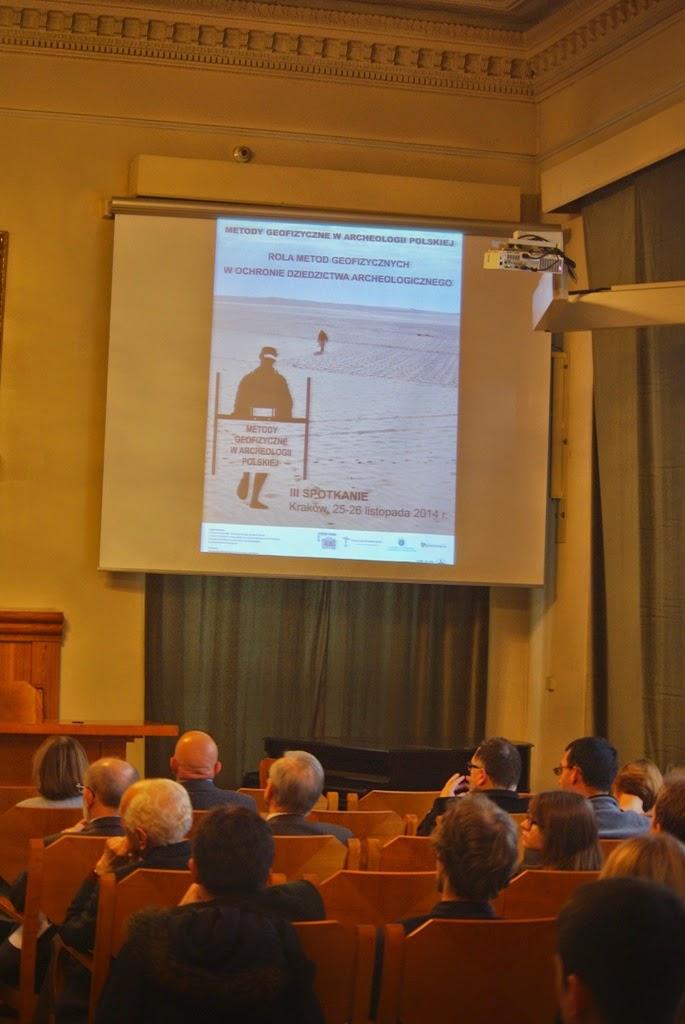 Konferencja Metody geofizyczne w archeologii polskiej (fot. J. Karmowski, K. Kiersnowski) - geof%2B%25286%2529.JPG